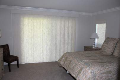 Averte window covering in the closed position